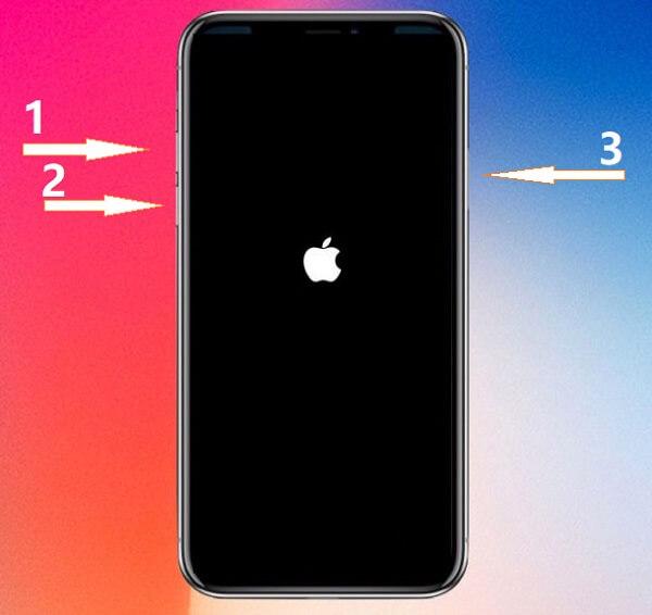 wie iPhone x erzwingend neu starten