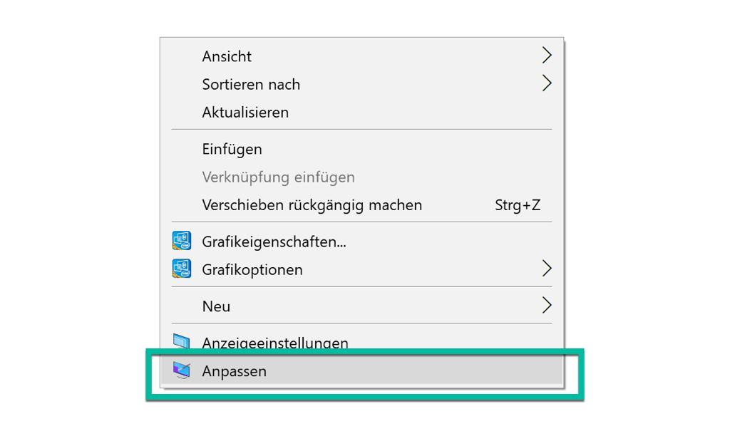 Windows 10 Desktop Einstellungen Anpassen