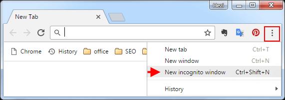 Windows anonym neu oeffnen