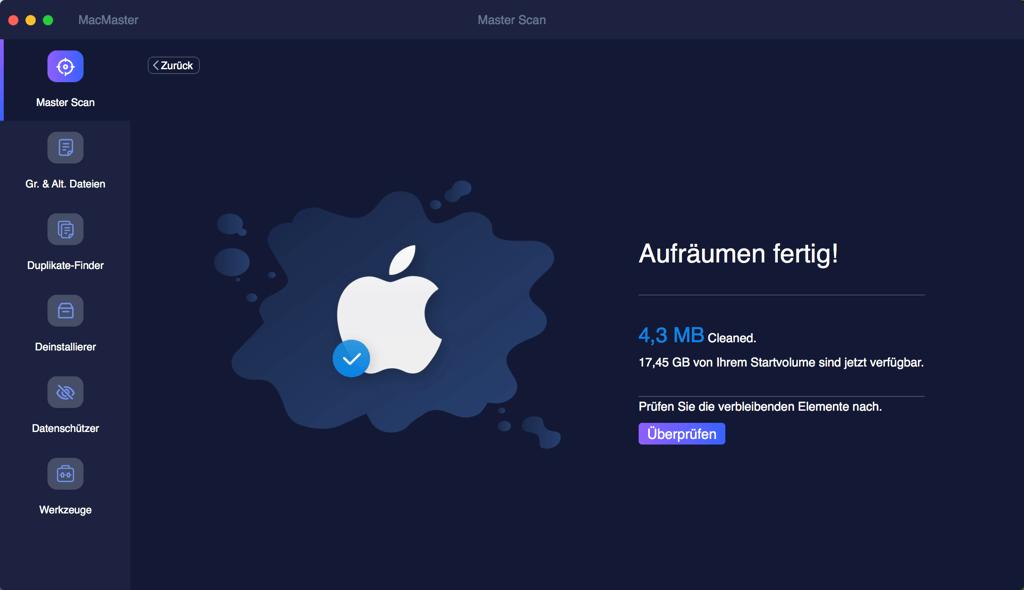 Dateien im Papierkorb auf Mac sichern leeren