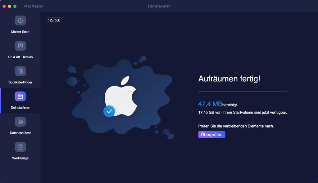 Programme auf Mac endgültig deinstallieren