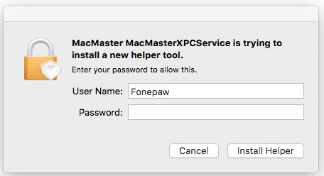 MacMaster Helper Tool