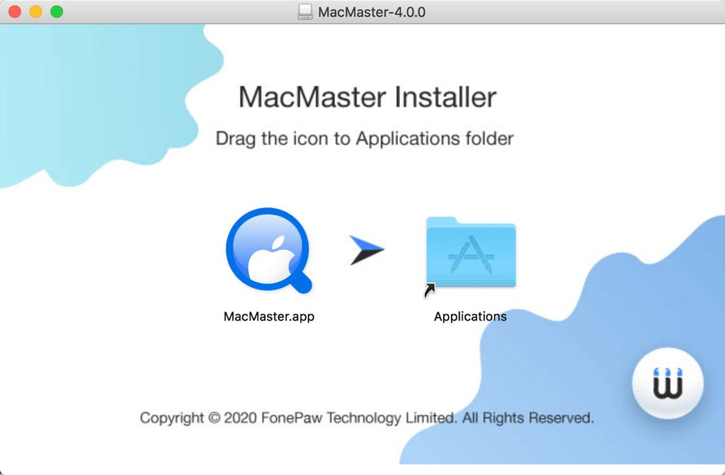 FonePaw MacMaster installieren
