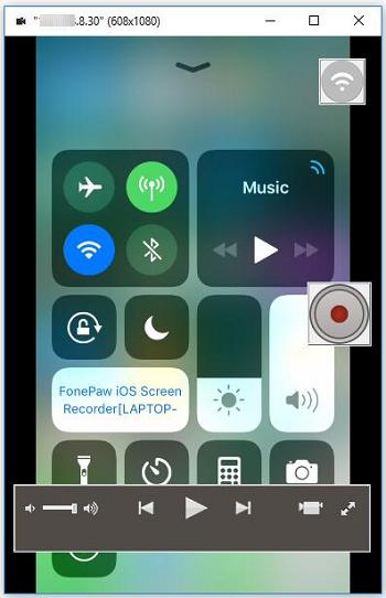 iOS-Bildschirmspiegelung aktivieren