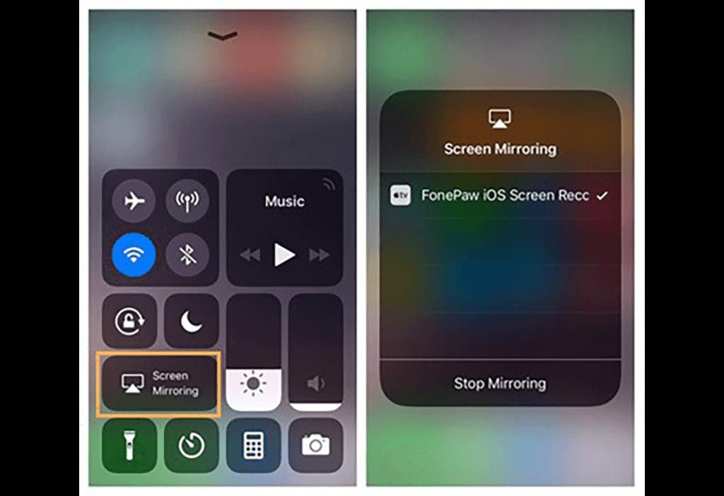 iPhone-Bildschirm-Recorder mit Computer verbinden