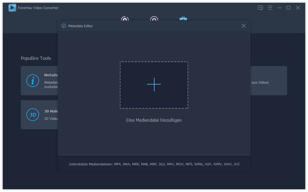 Metadaten Editor