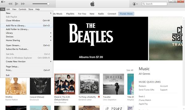 Importieren Sie gerippte DVD Filme in die iTunes Mediathek