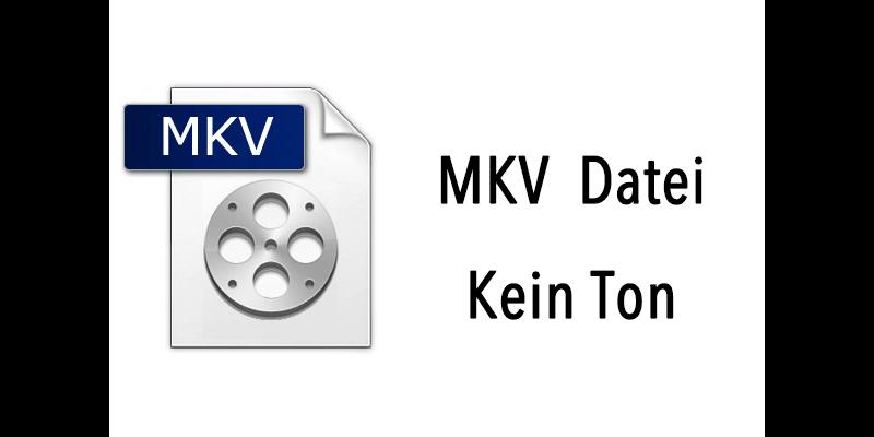 MKV-Datei kein Ton