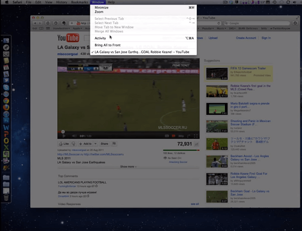 YouTube-Videos auf Mac downloaden mit Safari